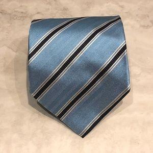 Banana Republic Triplet Stripe Textured Silk Tie